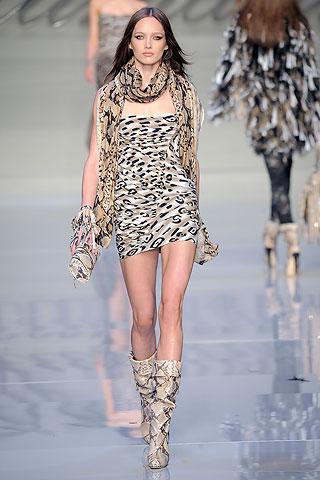 00360m | Модная одежда с леопардовым рисунком